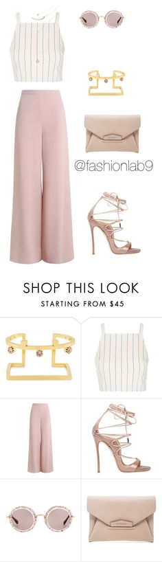 """""""Untitled #1141"""" by alana-andrea-bacchus on Polyvore featuring Joomi Lim, Topshop, Zimmermann, Dsquared2, Miu Miu, Givenchy and Forever 21"""