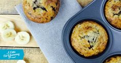 Low+FODMAP+Banana+Chocolate+Chip+Muffins