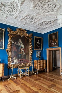 Frederiksborg Castle interior - Denmark