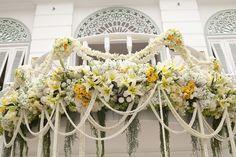 Theme wedding in Thailand.