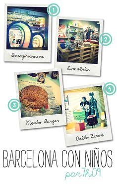 Barcelone { 03 } Kiosko Burger   C/Marquès de L'Argentera 1 bis  Une sélection incroyable de burgers dans laquelle choisir son burger préféré : du burger japonais terkyaki au burger mexicain.