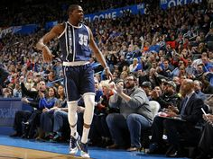 Oklahoma City's Kevin Durant celebrates after A basket during an NBA basketball game between the Oklahoma City Thunder and the Utah Jazz at Chesapeake Energy Arena in Oklahoma City, on Wednesday, Decemeber 31. Photo by Bryan Terry, The Oklahoman