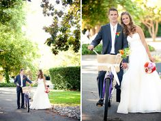 Backyard tropical wedding Coral and Pink Vintage Danielle Gillett Photography