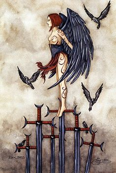 Amy Brown is the first Fairy Artist in America. Amy Brown was born in Bellingham, Washington in As a child she spent countless hour. Dark Fantasy, Fantasy Art, Elves Fantasy, Fantasy Fairies, Amy Brown Fairies, Dark Fairies, Dark Wings, Fairy Pictures, Angel Pictures