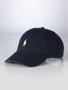 Signature Pony Hat - Polo Ralph  Lauren Hats & Scarves - RalphLauren.com