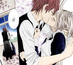Manga Couple Kiss Cute At School Festival
