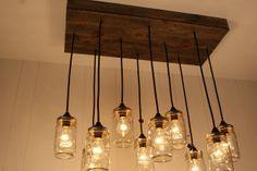 Edison Avenue: Rustic Lighting : Mason Jar Lighting Pendants