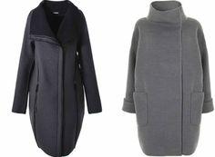 Как носить пальто-кокон