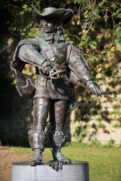 Did you know that one of the Three Musketeers died at the siege of Maastricht? This statue of d'Artagnan is located at the place where he died.