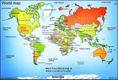 Printable world map labeled world map see map details from ruvur the silent dog is the first to bite and more proverbs from which country gumiabroncs Images
