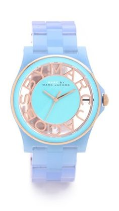 Marc by Marc Jacobs Henry Skeleton Gradient Watch | SHOPBOP