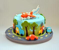 Sweet and not Sweet: Тортики для мальчиков маленьких и больших.