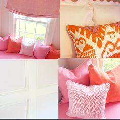 Loving today's girls room install! Can't wait for the big reveal...stay tuned!!!! #quadrillefabrics #samuelandsons #kravet #fabricut #matouk @quadrillefabrics @samuelandsons @kravetinc