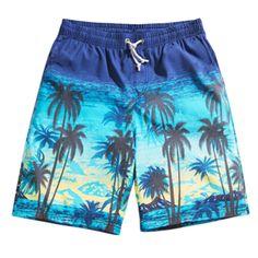 Men's Casual Short Beach Shorts Quick-dry Sport Swim Trunk Swimwear Jams #19