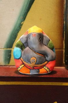 Easy Color Ganesha Magnets Diwali Festival Decoration. $8.99, via Etsy.