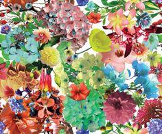 Floral Yardage - Jo Cao
