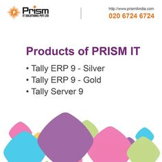 Get all #tally solutions under one roof. Visit @ http://www.prismitindia.com