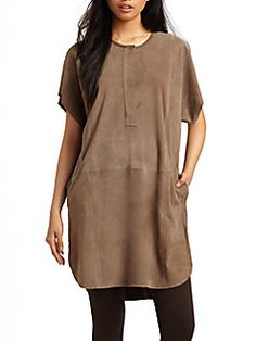 Vince - Goat Suede Tunic