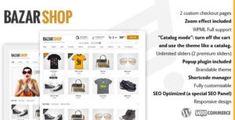 Bazar Shop – Multi-Purpose e-Commerce Theme Best Free Wordpress Themes, E Commerce, Business Website, Purpose, Blog, Shopping, Live News, Popup, Sliders