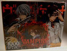 Vampire Knight 1000 Piece Jigsaw Puzzle Aquarius Matsuri Hino 20x27 Gothic Magna