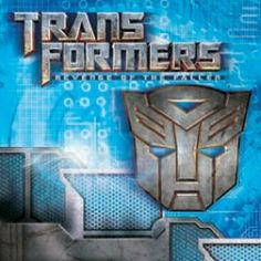 Transformers Lunch Napkins (16 Pack)