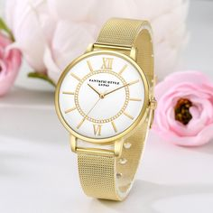 Cheap watches bracelet, Buy Quality watch brand directly from China watch f Suppliers: Lvpai Brand Gold Luxury Casual Mesh Alloy Strap Wrist WatchWomen Fashion Watches Bracelet Brands Ladies Clock Quartz Watch Cheap Luxury Watches, Cheap Watches, Women's Watches, Ladies Dress Watches, Mesh Band, Gold Fashion, Style Fashion, Fashion Women, Shopping
