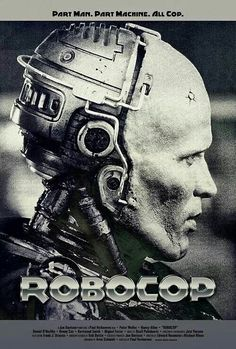 ROBOCOP In a dystopic and crime-ridden Detroit, a terminally wounded cop returns to the force as a powerful cyborg haunted by submerged memories. -Watch Free Latest Movies Online on Best Movie Posters, Cinema Posters, Movie Poster Art, Poster S, Film Movie, Sci Fi Movies, Cult Movies, Art Pulp, Film Science Fiction