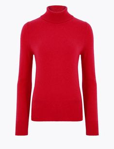 Pure Cashmere Roll Neck Jumper   Autograph   M&S Small Wardrobe, Roll Neck Jumpers, Cashmere Jumper, Suit Shop, Pullover, Neue Trends, Style Guides, Lounge Wear, What To Wear
