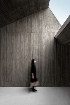 Arch Studio carves concrete Buddhist shrine into a grassy mound in Hebei Waterside Buddist Shrine, Tangshan, China, by Arch Studio Tectonic Architecture, Concrete Architecture, Church Architecture, Amazing Architecture, Contemporary Architecture, Architecture Details, Interior Architecture, Buddhist Architecture, Environmental Architecture