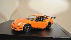 Модель машины 1:24 Porsche 911 (997) GT3 RS Welly (Велли)