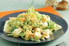 Δροσερή σαλάτα Salad Recipes, Healthy Recipes, Food Categories, Salad Bar, Burritos, Sweet Recipes, Potato Salad, Cabbage, Salads