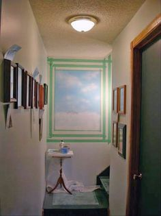 Got a dark hallway? Here's a brilliant solution!