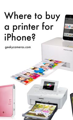 Learn where you can buy a great Printer for your iPhone. Click the PIN to view printers! http://www.geekycameras.com/iphone-pictures-portable-printer/