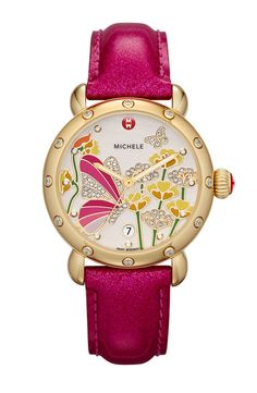 Every day is La Vie En Rose with this Michael Kors beauty! Available at Nordstrom. Est. comGateway Shipping: 1.5kg