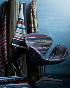 Paul Smith - point fabric -The new fabric seen on the iconic Swan chair, from Republic of Fritz Hansen Arne Jacobsen, Paul Smith, Textile Design, Fabric Design, Skandinavisch Modern, Contemporary, Swan Chair, Danish Modern Furniture, Textiles