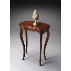2419101 - Marlowe Olive Ash Burl Kidney-Shaped Table