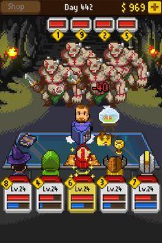 Uwielbiam gry w stylu retro, a Knights of Pen & Paper jest na dodatek grą RPG z wyśmienitym humorem :) kto grał w papierowe eRPegi ten wie o co chodzi ;-)