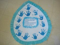 mensagem dia da agua gota - Atividades para Educação Infantil