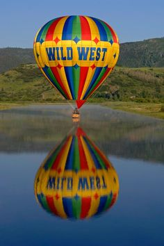 Here is a Pin for hot air ballooning. The Wild West hot air balloon offers 45 minute rides over beautiful Steamboat Colorado. It is not cheap though