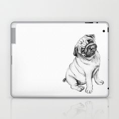Pug Laptop & iPad Skin by Maripili - $25.00