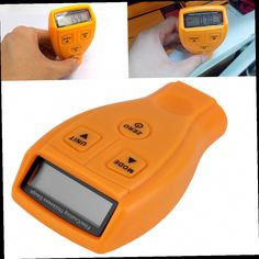 49.67$  Watch now - http://alie25.worldwells.pw/go.php?t=32756842153 - 2Sets Digital Automotive Coating Ultrasonic Paint Iron Thickness Gauge Meter Tool 49.67$