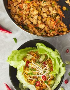 Vegan Tofu Lettuce Cups (San Choy Bow)