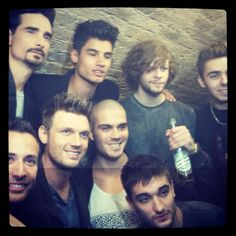 Had a great show last night with @thewanted . Great lads!!!