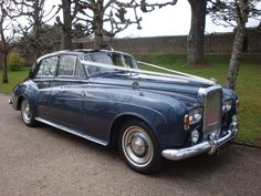 Astral Blue 1960s Bentley S3 Saloon Hire