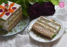 Brauoterta & Smörgåstårta: Sandwichtorte - sugar&rose Sandwich Torte, Sandwiches, Brunch, Cake, Desserts, Food, New Years Eve Party, Beetroot, Food Food