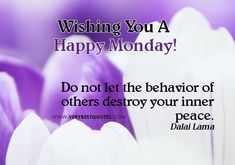 happy mondays quotes | Peace – Monday Good Morning Picture quotes - Inspirational Quotes ...