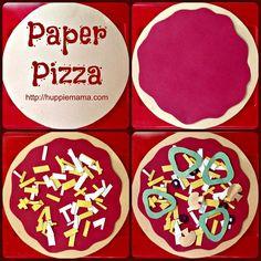 Paper pizza kids food crafts, paper crafts for kids, daycare crafts, camping crafts Kids Food Crafts, Daycare Crafts, Paper Crafts For Kids, Crafts For Kids To Make, Toddler Crafts, Preschool Crafts, Fun Crafts, Art For Kids, Arts And Crafts