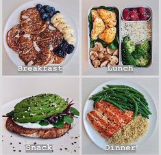 healthy snacks - Tasteful Healthy Lunch Ideas with High Nutrition for Beloved Family lunchideas healthylunchideas healthyfood healthyfoodideas healthyfoodprep Healthy Meal Prep, Healthy Snacks, Healthy Eating, Healthy Recipes, Healthy Dinners, Healthy Cooking, Cooking Chef, Meal Recipes, Snacks