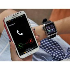Bluetooth Smart Watch with touch screen, TXT message & Phonebook sync and more. Make the most out of your Smartphone with this smart watch. From shopswagstore.com