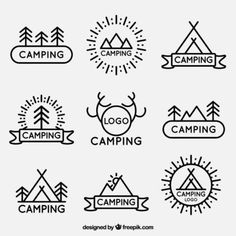 Image result for camping logo